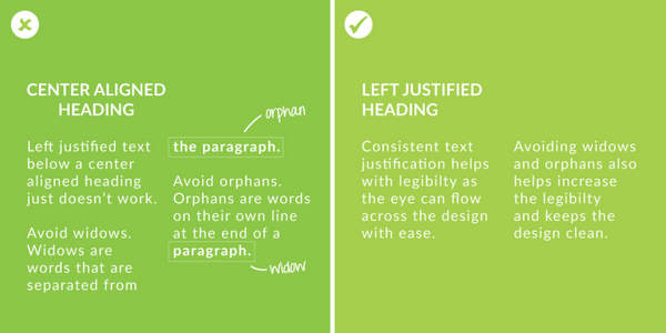 Text formatting - Canva